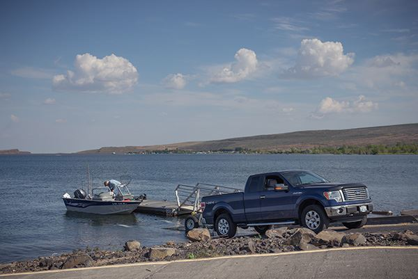 Potholes boat launch